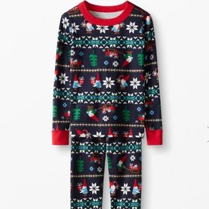 Hanna Andersson Christmas PJs size 6-7
